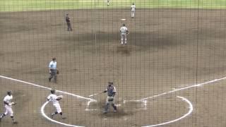 7回裏・三浦学苑攻撃 H大川→1渡邊哲成L 6番・草柳 大きな右中間右飛、少...
