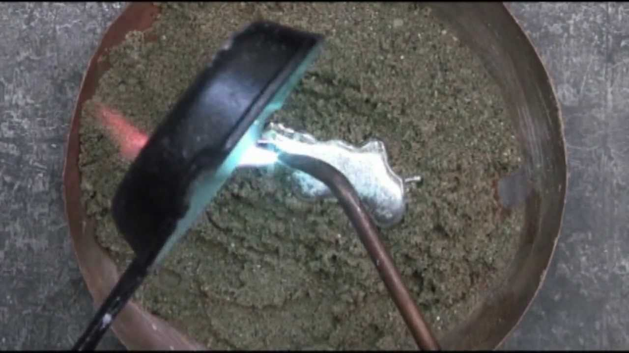 Step 2: Melting Low-Melting Pewter | Casting Pewter Into Mold Max® 60