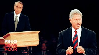 Clinton vs. Dole: The second 1996 presidential debate