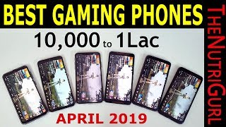 Top 5 Gaming Phones (10,000 to 100,000)