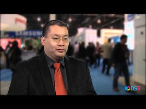 Lawrence Chang of Calgary Telus Convention Centre at DSE 2014