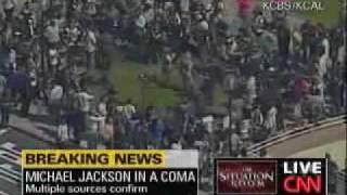 Breaking News Michael Jackson Dies At 50