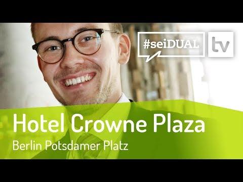 Ausbildung   Hotelfachmann*frau   Hotel Crowne Plaza Berlin Potsdamer Platz   #seiDUAL TV