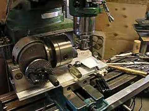 Cutting a gear with an involute cutter - YouTube