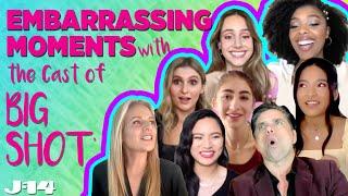 Big Shot Disney Plus Cast Reveals Most Embarrassing Moments