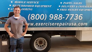Where To Buy Refurbished Commercial Gym Used Fitness Equipment With Patrick Leon Of Exercise Repair