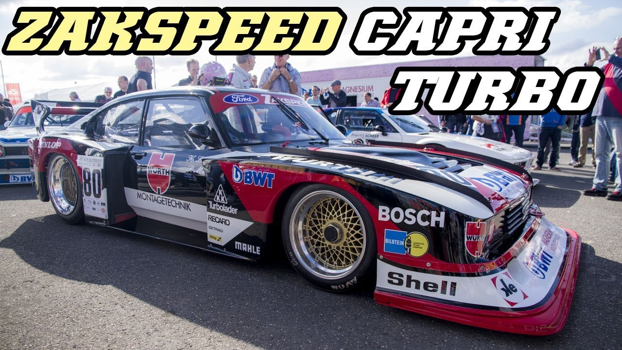 ford capri zakspeed turbo fly by idle and revs. Black Bedroom Furniture Sets. Home Design Ideas