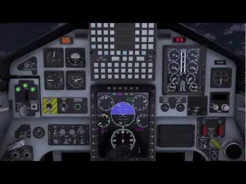 Combat Pilot CP-T-38C Engine Start Procedures Walkthrough