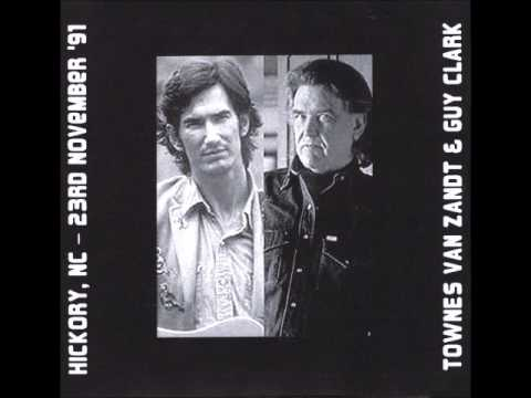 Townes Van Zandt And Guy Clark Ten Years After Club, Hickory, NC November 23, 1991