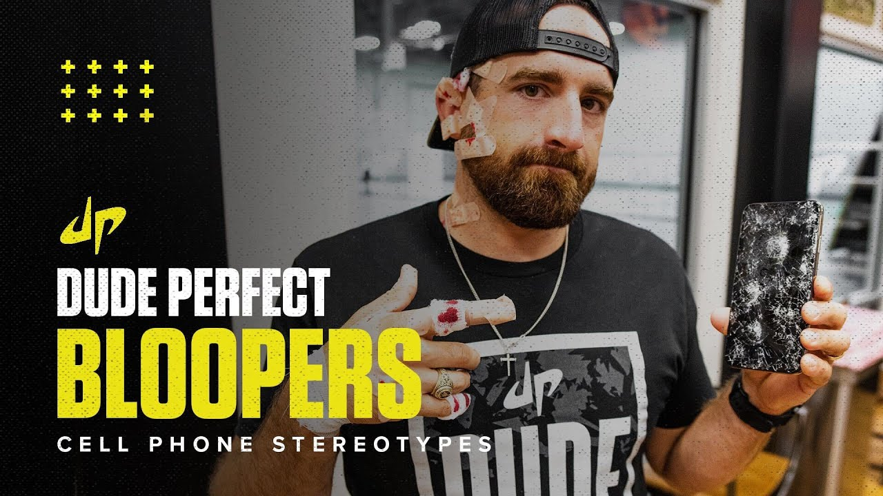 Cell Phone Stereotypes (Bloopers & Behind The Scenes)