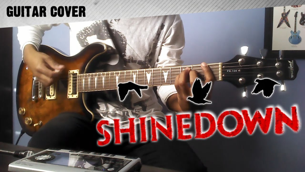 Shinedown second chance guitar cover by rafael freitas youtube shinedown second chance guitar cover by rafael freitas hexwebz Images