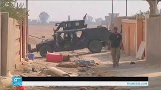 دوريات تفتيش من الجيش العراقي للبحث عن أنفاق وعناصر إرهابية