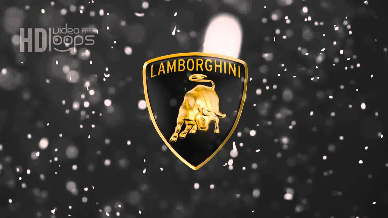 Lamborghini Logo VIDEO LOOP HD FREE