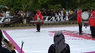 Marching Cat tangerang Drumline Gita pesona al'husen 🆚 Drumline MBDGP sepatan
