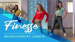 Bruno Mars - Finesse (remix) Easy Fitness Dance Choreography - Baile - Coreografia - Zumba