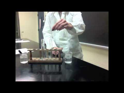 Calcium Chloride + Potassium Carbonate Pre-Lab - STS: Students Teaching Students Chemistry Lab