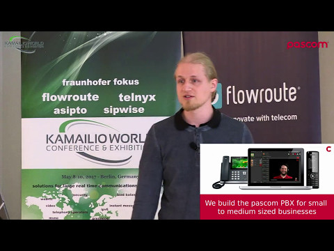 Kamailio World 2017: Kamailio As A Stateless, Containerized Session Border Controller