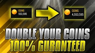 NBA Live Mobile INSANE COIN MAKING METHOD!! DOUBLE YOUR COINS!! 100% GUARANTEED!! UNLIMITED COINS!!!