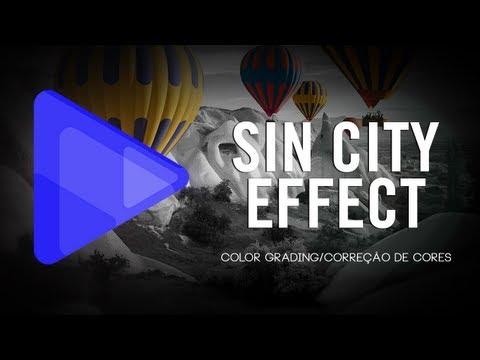 Tutorial Sony Vegas: Efeito Sin City - Isolamento De Cor (HD)