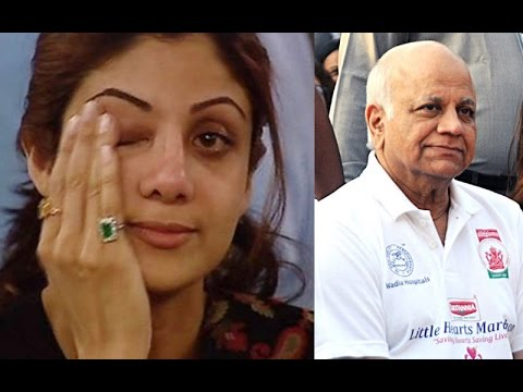 Emotional Shilpa Shetty CRYING At Father's Last Rights Ceremony I Akshay Kumar attends funeral  I