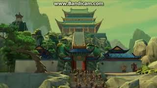 Kung Fu Panda Dragon warrior poster scene