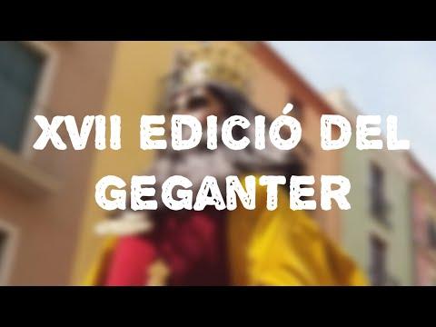 XVII edició del geganter vilafranca 2019