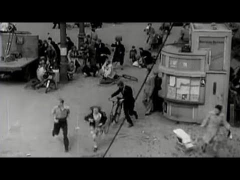 1945: Schietpartij op de Dam te Amsterdam op 7 mei 1945 - i.h.k.v. Bevrijdingsdag 2017