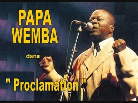 proclamation de papa wemba