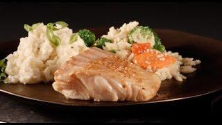 Asian Sesame Baked Fish