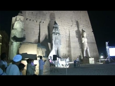75-tonne Ramses II statue restored and unveiled in Egypt