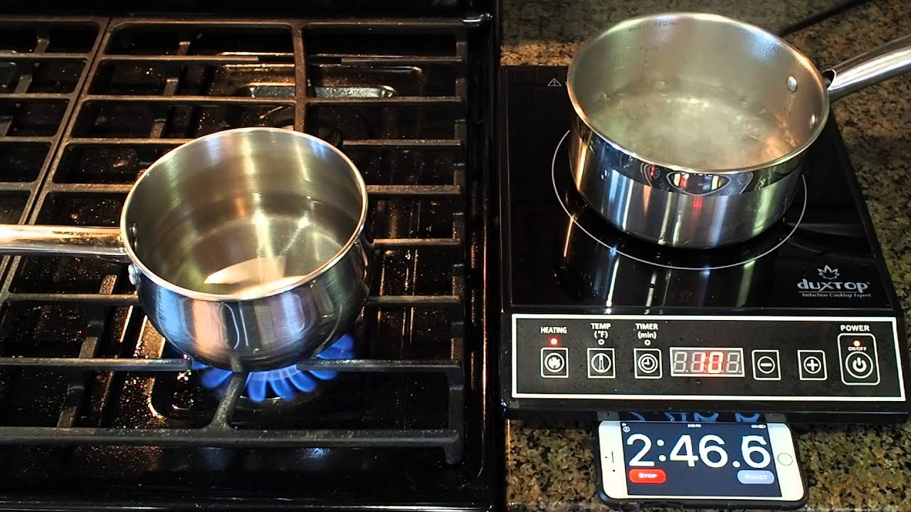 induction burner vs gas range which is more powerful youtube. Black Bedroom Furniture Sets. Home Design Ideas