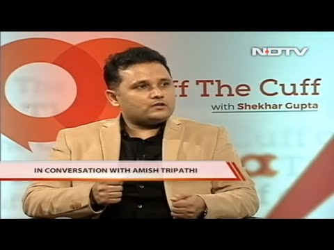 Author Amish Tripathi On Intolerance - Exclusive Interview - Off The Cuff