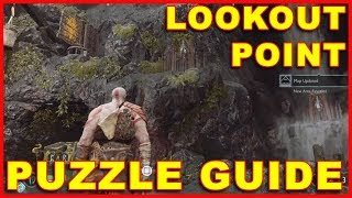 God of War (PS4) Lookout Point Blue Rune Treasure Puzzle Guide (Spikes)