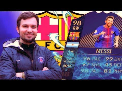 ЧТО ТВОРИТ ЛИОНЕЛЬ МЕССИ 98 в HAPPY-GO-LUCKY - FIFA 18