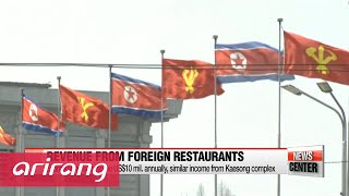 13 N. Koreans working at foreign restaurant defect to S. Korea
