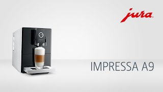 JURA | IMPRESSA A9 | Kaffeevollautomat - fully automatic coffee machine