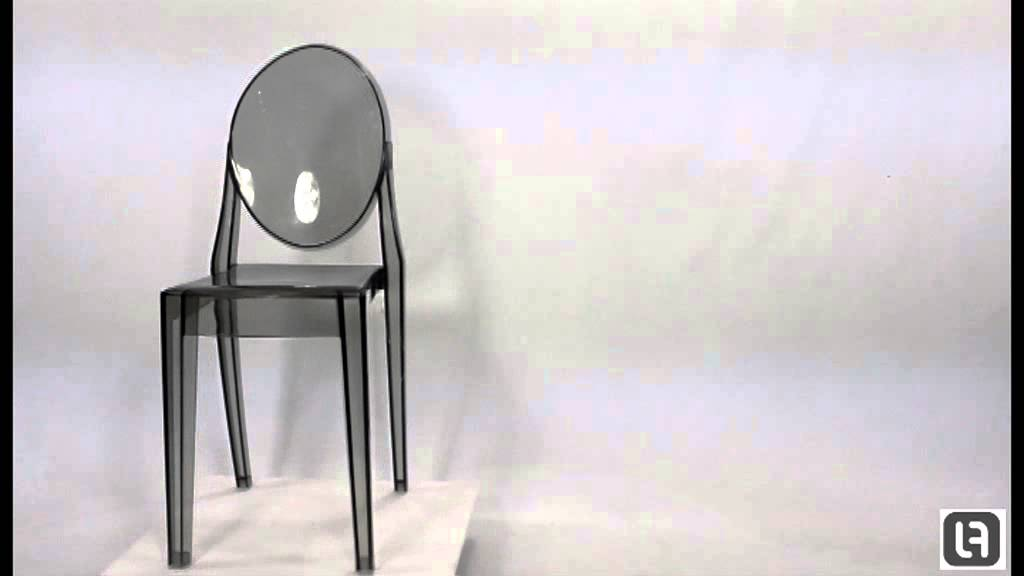 Philippe Starck Style Smoke Victoria Ghost Chair