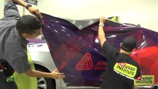 Wrapping the Side of a Vehicle with one Panel