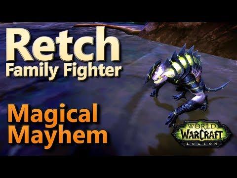 Retch Magical Mayhem Family Fighter Pet Battle