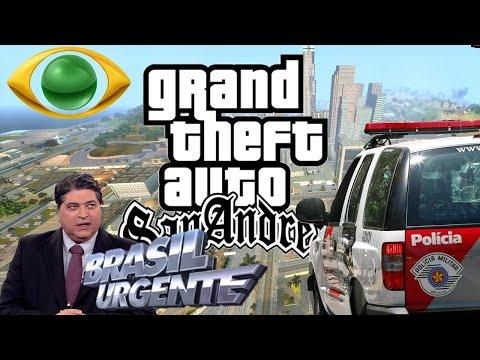 GTA San Andreas - Fugas E Perseguições Em São Paulo
