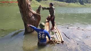 săn cá Hồ Thủy Điện Cửa Đặt - Fan nhịp sống tây bắc