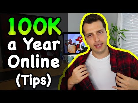 Make $100,000 a Year Online w/ Affiliate Marketing (Tips)