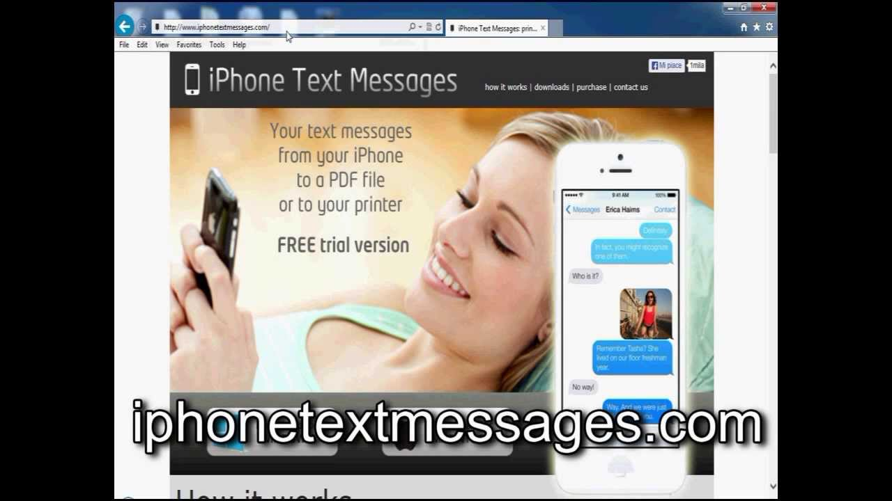 Iphone Text Messages To Pdf Free