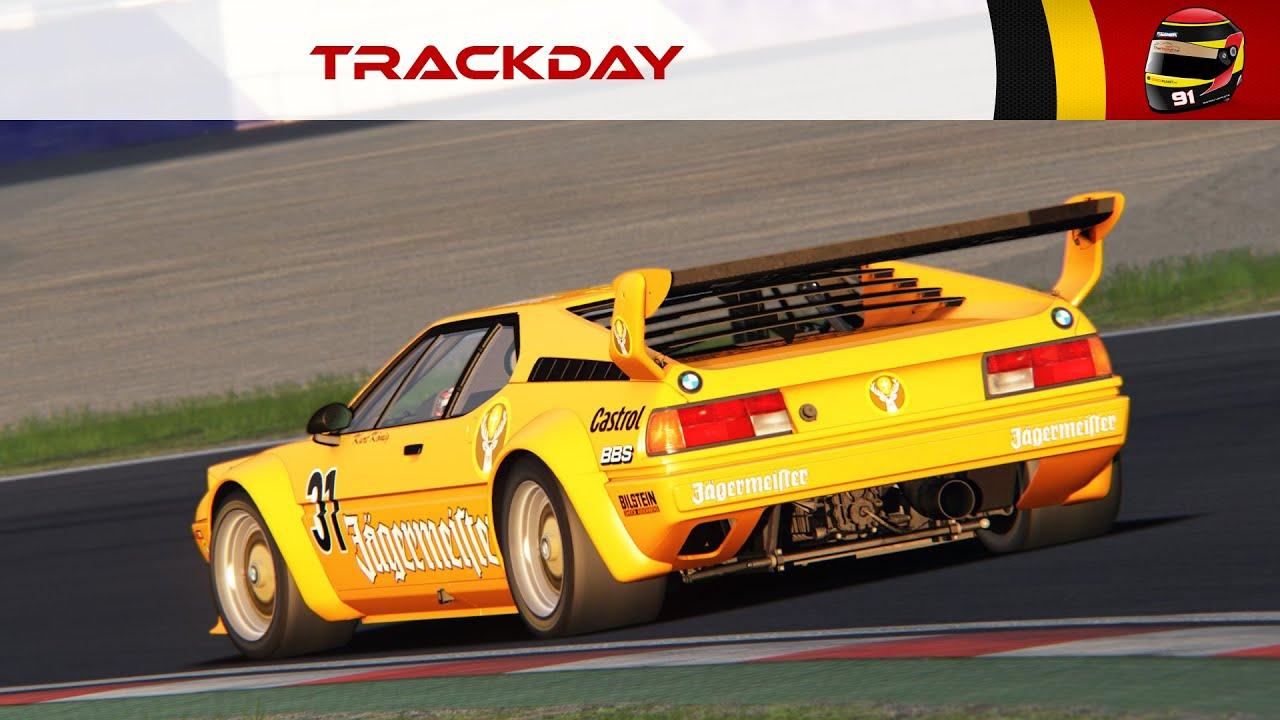 TrackDay #100: BMW M1 DRM 1980 (Spielberg) [FR ᴴᴰ]