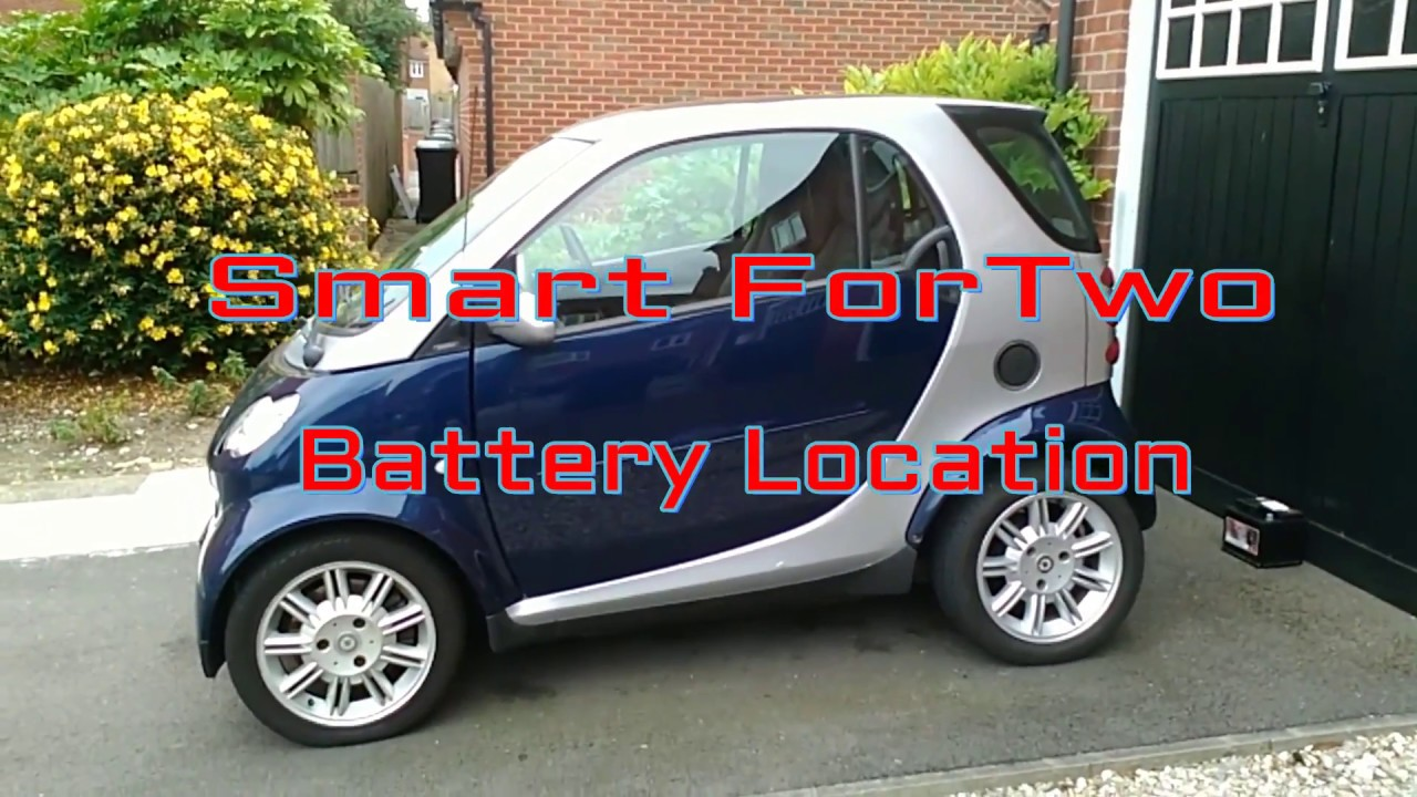 2004 Smart Fortwo Battery Location