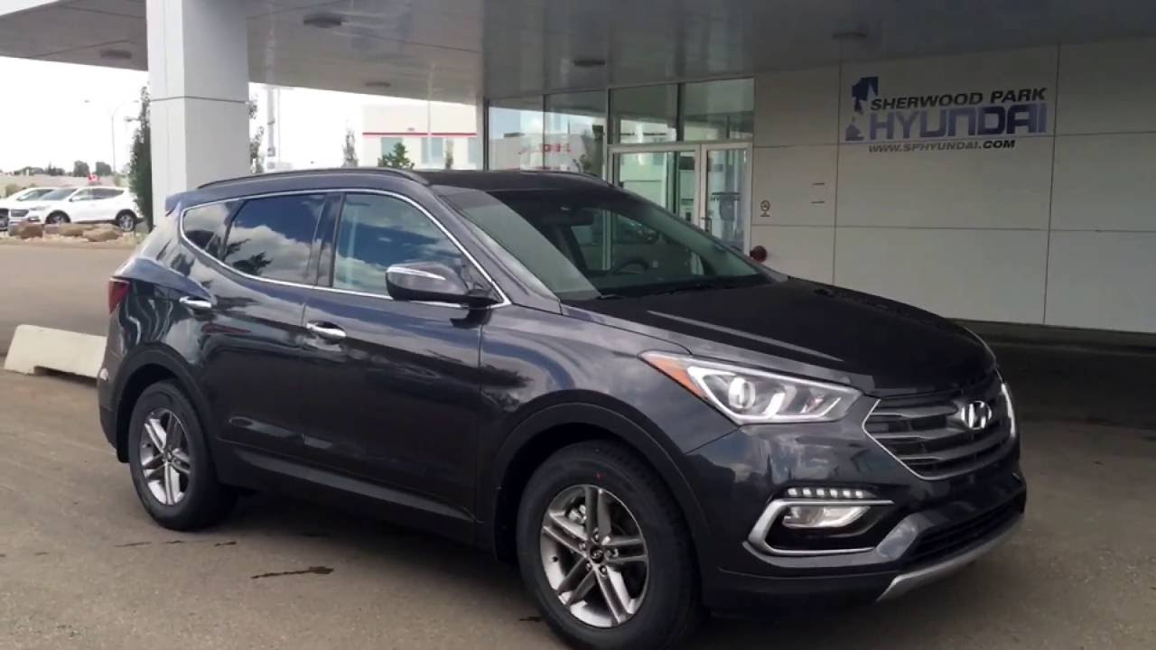 2017 Hyundai Santa Fe Sport Premium Awd In Depth Walk Around Sherwood Park You