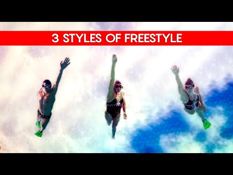 Freestyle Swimming Technique - 3 Styles Of Freestyle