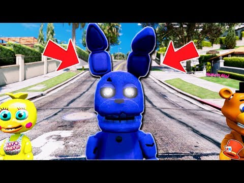 *NEW* SHADOW ADVENTURE SPRINGTRAP ANIMATRONIC! (GTA 5 Mods For Kids FNAf RedHatter)