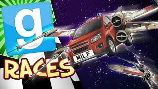 Gmod Building Cars #2 - Milf Wing (Garry's Mod Build Challenge)