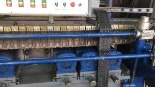 11-и шп станок для нанесения фацета на прямолинейное стекло или зеркало(11-и шпиндельный фацетный станок в работе., 2016-04-24T15:13:38.000Z)